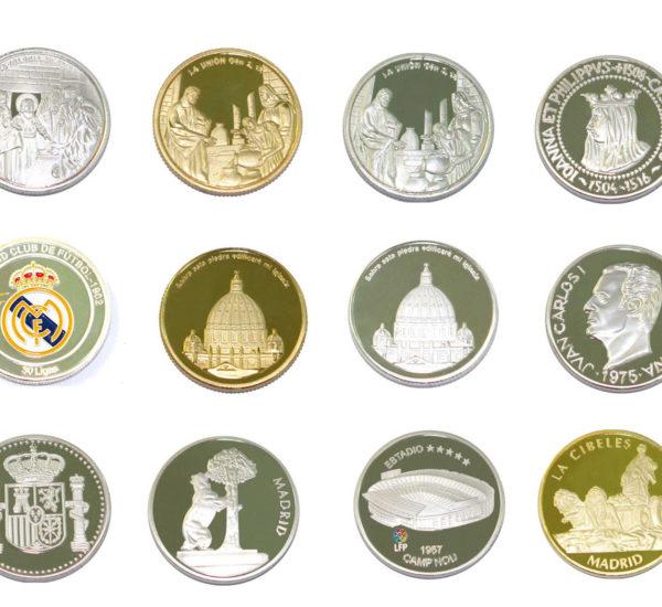 Monedas Souvenirs